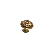 Ручка-кнопка, отделка бронза с красной патиной 24452Z03000.54