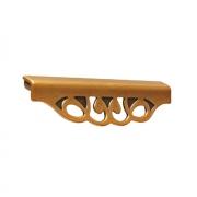 Ручка-скоба 128-096мм, бронза античная французская 9.1354.128096.25