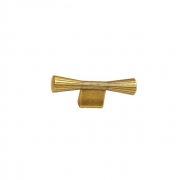 Ручка-кнопка 16мм, отделка бронза античная французская 9.1355.0016.25