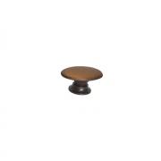 Ручка-кнопка 21х34, отделка бронза античная 10.777.B20