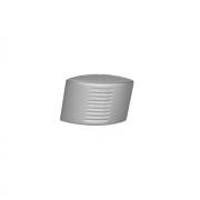 Ручка-кнопка,отделка  хром матовый 1328