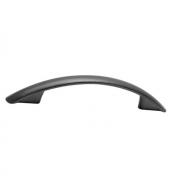 Ручка-скоба 96мм, отделка чёрный 11/500