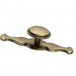 Ручка-кнопка, отделка бронза 15.343.30.02
