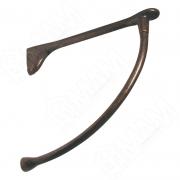 MS.1220.BA Менсолодержатель для деревянных полок L-240 мм, бронза патинированная (2 шт.)