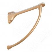 MS.1221.OC Менсолодержатель для деревянных и стеклянных полок 6 - 20 мм, L-149 мм, золото матовое (2 шт.)