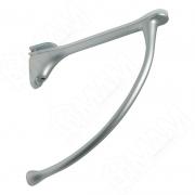 MS.1221.AP Менсолодержатель для деревянных и стеклянных полок 6 - 20 мм, L-149 мм, хром матовый (2 шт.)