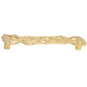 Ручка-скоба 160мм, отделка золото 24 9.1356.0160.14