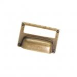 """Ручка-скоба 32мм, отделка бронза """"Флоренция"""" 15333Z08000.09"""