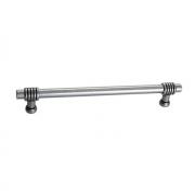 Ручка-скоба 96 мм, отделка античное железо 47100.53