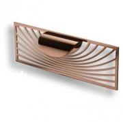 1300 0220 RS-RS Ручка скоба, розовое золото 32 мм