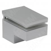 MS.1437.AP Менсолодержатель 40Х60 мм для деревянных и стеклянных полок 6 - 25 мм, хром матовый (2 шт.)