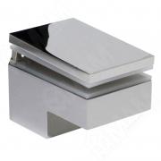 MS.1437.NL Менсолодержатель 40Х60 мм для деревянных и стеклянных полок 6 -25 мм, хром (2 шт.)