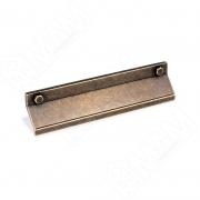 1490.128.2B Профиль-ручка 128мм бронза состаренная