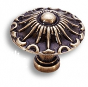 15.304.24.12 Ручка кнопка, античная бронза