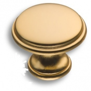 15.330.29.22 Ручка кнопка, матовое золото