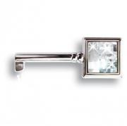 15.511.42.SWA.07 Ключ с кристаллом Swarovski, глянцевый хром