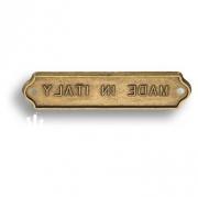 15.673.00.12 Накладка декоративная, античная бронза
