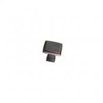 Ручка-кнопка, отделка шлифованная медь KB-M-3936-32-AC-MM