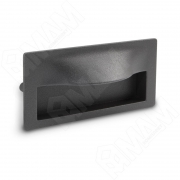 MD15.096.LPS01 FUENTE Ручка-раковина 96мм графит структурный