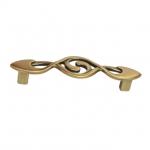 Ручка-скоба 96мм, отделка бронза античная французская 9.1358.0096.25