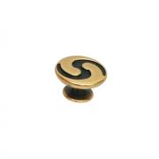 Ручка-кнопка, отделка бронза античная французская 10.827.25