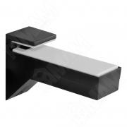 162200 10 BP-2 KALABRONE Менсолодержатель для деревянных и стеклянных полок 8 - 30 мм, черный матовый (2 шт.)