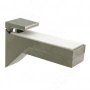 162200 10 YD-2 KALABRONE Менсолодержатель для деревянных и стеклянных полок 8 - 30 мм, нерж. сталь (2 шт.)