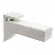 162200 10 AE-2 KALABRONE Менсолодержатель для деревянных и стеклянных полок 8 - 30 мм, белый (2 шт.)