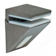 162200 80 YD-1 KALABRONE MINI Менсолодержатель для стеклянных полок 5 - 10 мм, нерж. сталь