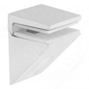162200 80 AE-1 KALABRONE MINI Менсолодержатель для стеклянных полок 5 - 10 мм, белый матовый