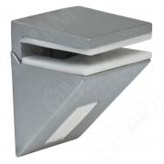 162200 80 JM-1 KALABRONE MINI Менсолодержатель для стеклянных полок 5 - 10 мм, хром матовый