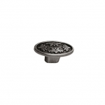 Ручка-кнопка, отделка серебро старое 24177Z05800.25