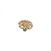Ручка-кнопка, отделка золото винтаж WPO.723Y.038.M00T5