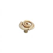 Ручка-кнопка, отделка золото винтаж + горный хрусталь WPO.724Y.035.MTZT5