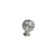 Ручка-кнопка, отделка хром глянец WPO.027Y.028.M0002