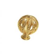 Ручка-кнопка, отделка золото глянец WPO.027Y.035.M00GP