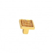 Ручка-кнопка, отделка золото люкс 060161WGP.052019