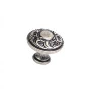 Ручка-кнопка, отделка серебро старое 24401Z03000.25