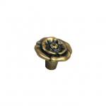 Ручка-кнопка, отделка бронза античная французская 10.828.B25