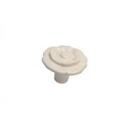 Ручка-кнопка, отделка слоновая кость 10.828.B0329