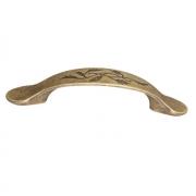 Ручка-скоба 96мм, отделка бронза античная 6521/831