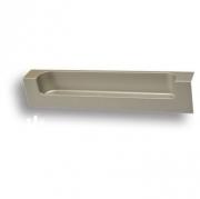 193128MP04 Ручка врезная, матовый никель 128 мм