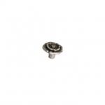 Ручка-кнопка, отделка серебро античное 10.828.B17N