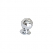 Ручка-кнопка, отделка хром глянец S533960033-08