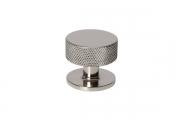 SY1985 0032 PN Ручка-кнопка, отделка никель глянец