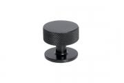 SY1985 0032 AL6 Ручка-кнопка, отделка черный матовый