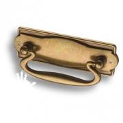2001.0032.002 Ручка скоба, старая бронза 32 мм