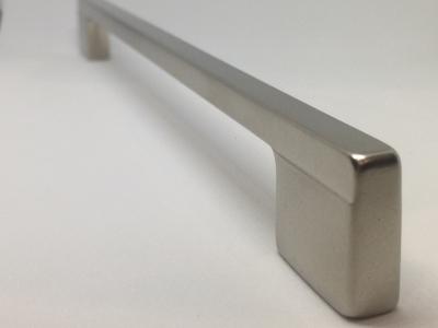 Ручка-скоба 224-192мм, отделка никель матовый 8.1012.224192.30