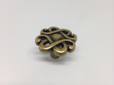 """Ручка-кнопка, отделка бронза """"Флоренция"""" (1 винт М4х22 + 1 винт М4х25) 24108Z0300B.09T"""