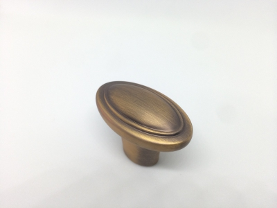 Ручка-кнопка, отделка кофе M302.K.COF